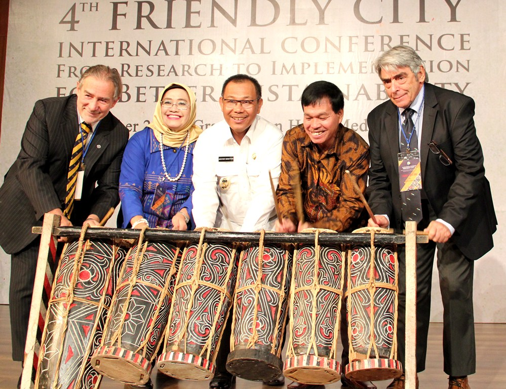 4th Friendly City International Conference Architecture USU